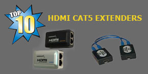 Top 10 Best Hdmi Over Cat5/Cat5e/Cat6 Extenders